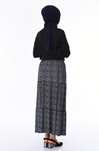 Navy Blue Skirt 7910-02