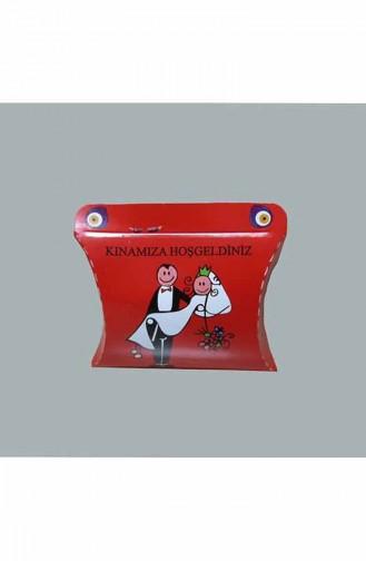 Boîte Henné 100 pieces AR4169 Rouge 4169