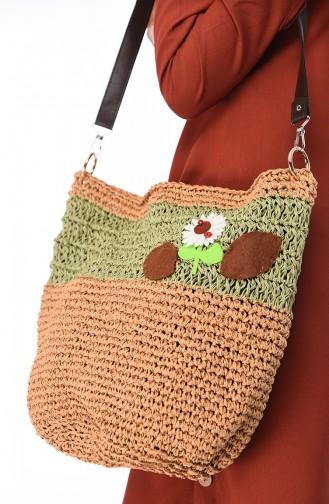 Green Shoulder Bag 2054-01