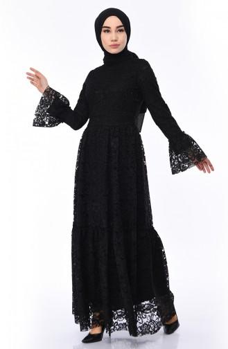 bac467f38fdc8 Dantel Elbise Modelleri ve Fiyatları - Tesettür Giyim | SefaMerve