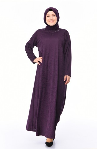 Lila Hijap Kleider 4563A-02