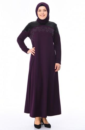 Purple İslamitische Jurk 4565-05