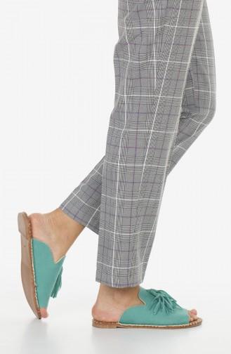 Sandales Pour Femme 2180-04 Vert eau 2180-04