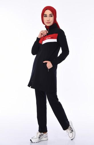Navy Blue Sweatsuit 95206-02