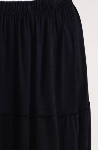 Jupe Viscose élastique 7880A-01 Noir 7880A-01