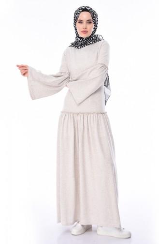 Beige Dress 5016-01