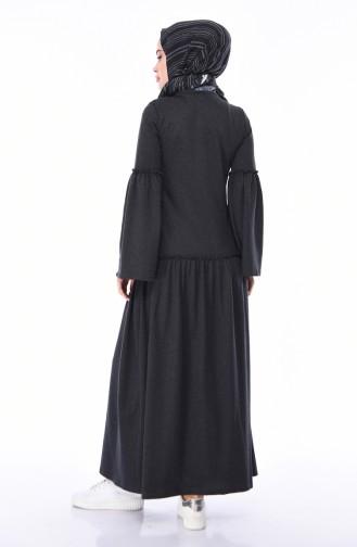 فستان فحم الإنتراسيت 5016-05