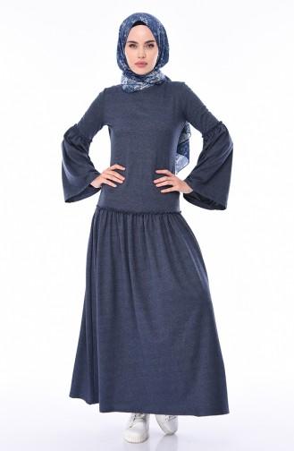 Indigo Dress 5016-06