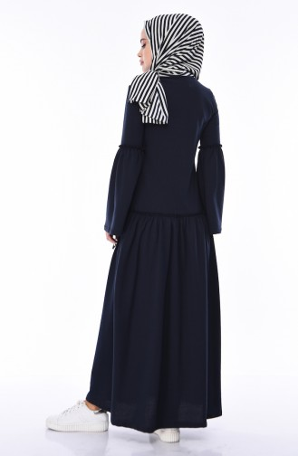 Navy Blue Dress 5016-07