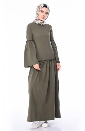 Khaki Dress 5016-10