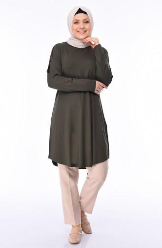 Khaki Tunic 50506-07