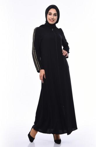 Black Abaya 0099-01