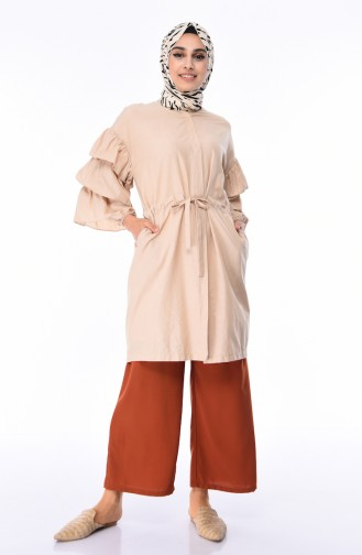 Pantalon Couleur brique 2584-01