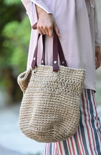 Cream Shoulder Bag 2047-01
