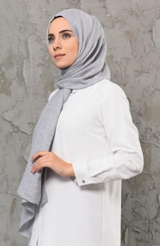 شال رمادي 13022-07