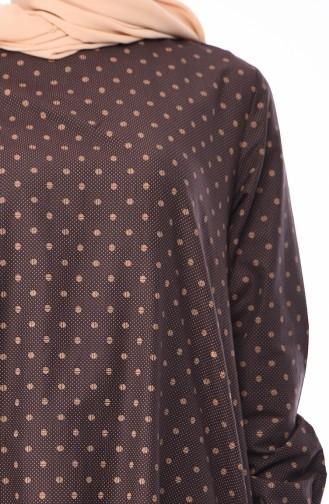 Tunique Coton 1213-02 Brun 1213-02