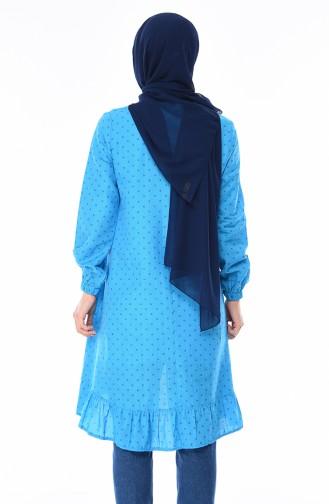 Tunique Coton 1213-05 Bleu 1213-05