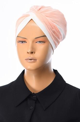 Lachsrosa Bonnet 0036-02
