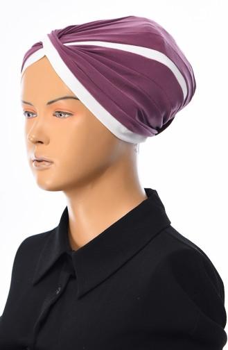 Beige-Rose Bonnet 0036-06