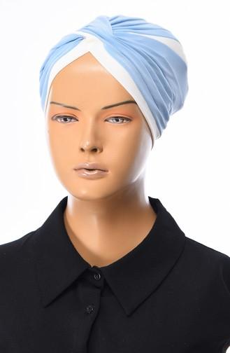 Babyblau Bonnet 0036-16