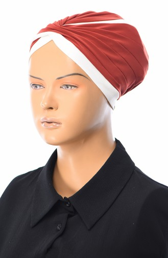 Ziegelrot Bonnet 0036-28