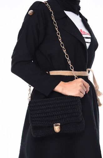 حقيبة كتف أسود 2040-01