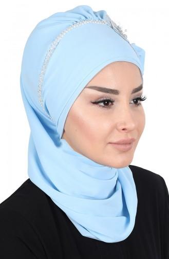 Turban Pret-a-Porter Bleu Bébé 0062-27