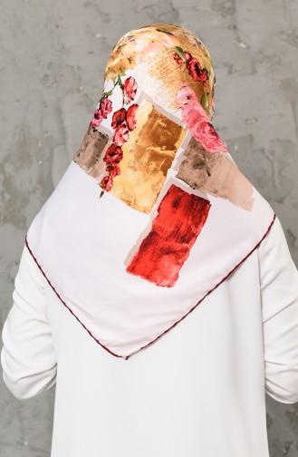 Rot Kopftuch 2279-08