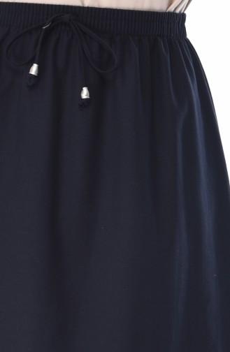 تنورة أزرق كحلي 1128B-01