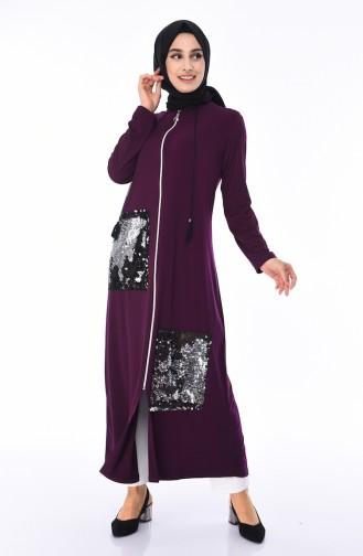 Purple Abaya 0019-03