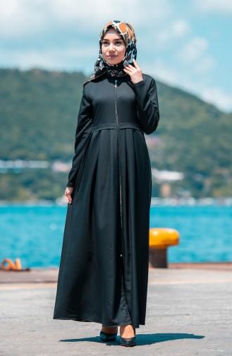 Black Abaya 2132-01