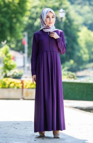 Purple Abaya 2132-06