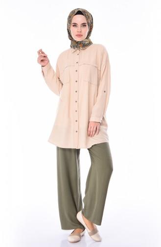 Pantalon Large 2095-04 Khaki 2095-04