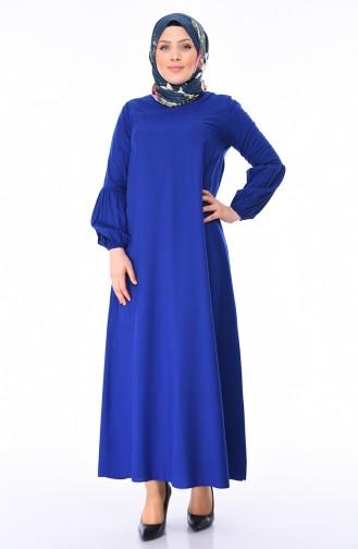 Robe Hijab Blue roi 1203-09