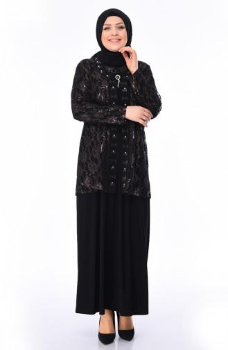 6d53e6c23672d Büyük Beden Abiye Elbise Modelleri - Tesettür Giyim | SefaMerve
