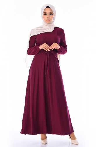 8a82addaf9ae9 Sefamerve, Belted Dress 0157-05 Taba