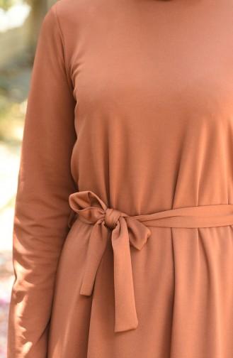 Tobacco Brown Dress 2242-04