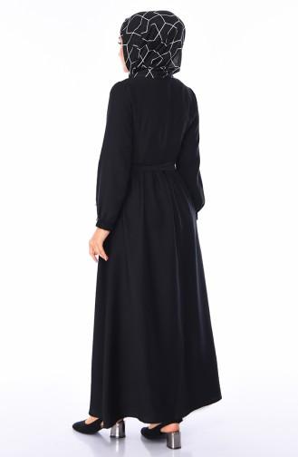 فستان أسود 5747-04