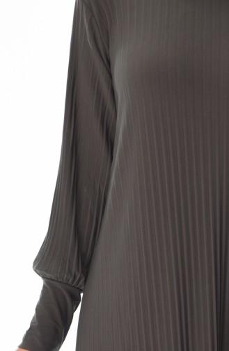 Khaki Hijap Kleider 0008-04