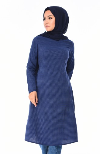 Navy Blue Tunic 1212-05