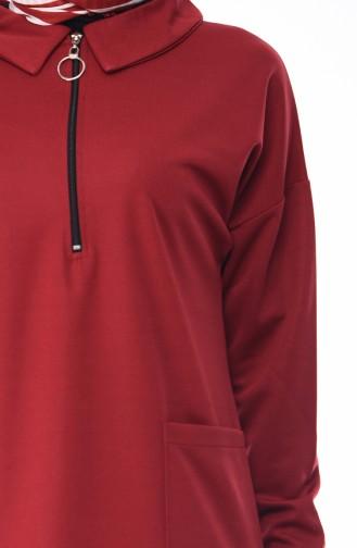 Claret red Tunic 4039-04