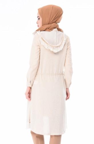 Cream Gilet 1449-02