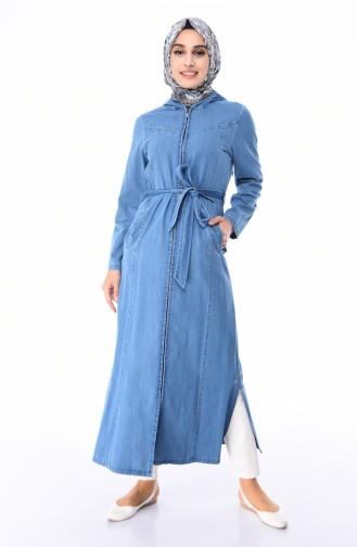 Jeans Blue Abaya 0354-01