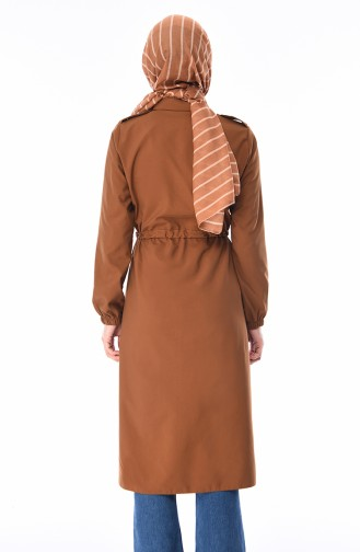 Ziegelrot Trench Coats Models 5476-06