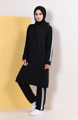 Black Sweatsuit 30110A-01
