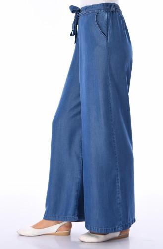 Jeansblau Hose 2564-04