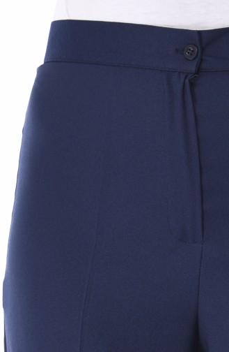 بنطال أزرق كحلي 1108-02