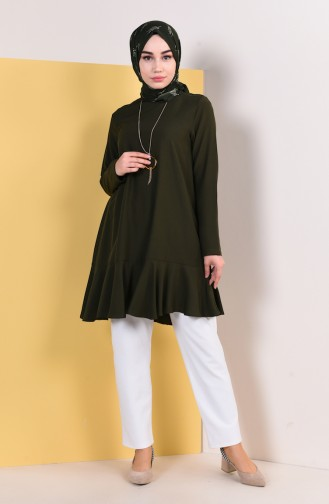 Dark Green Tunic 1056-02