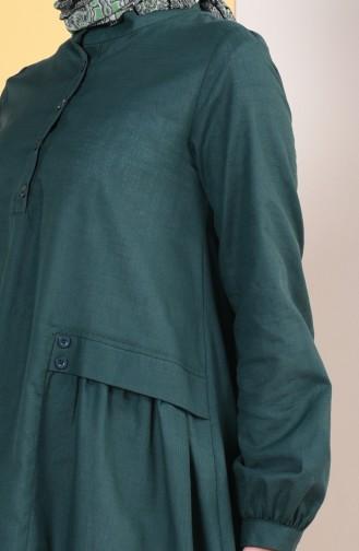 Tunika 4305-08 Smaragdgrün 4305-08