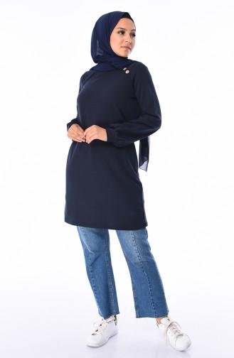 Navy Blue Tuniek 3066-10